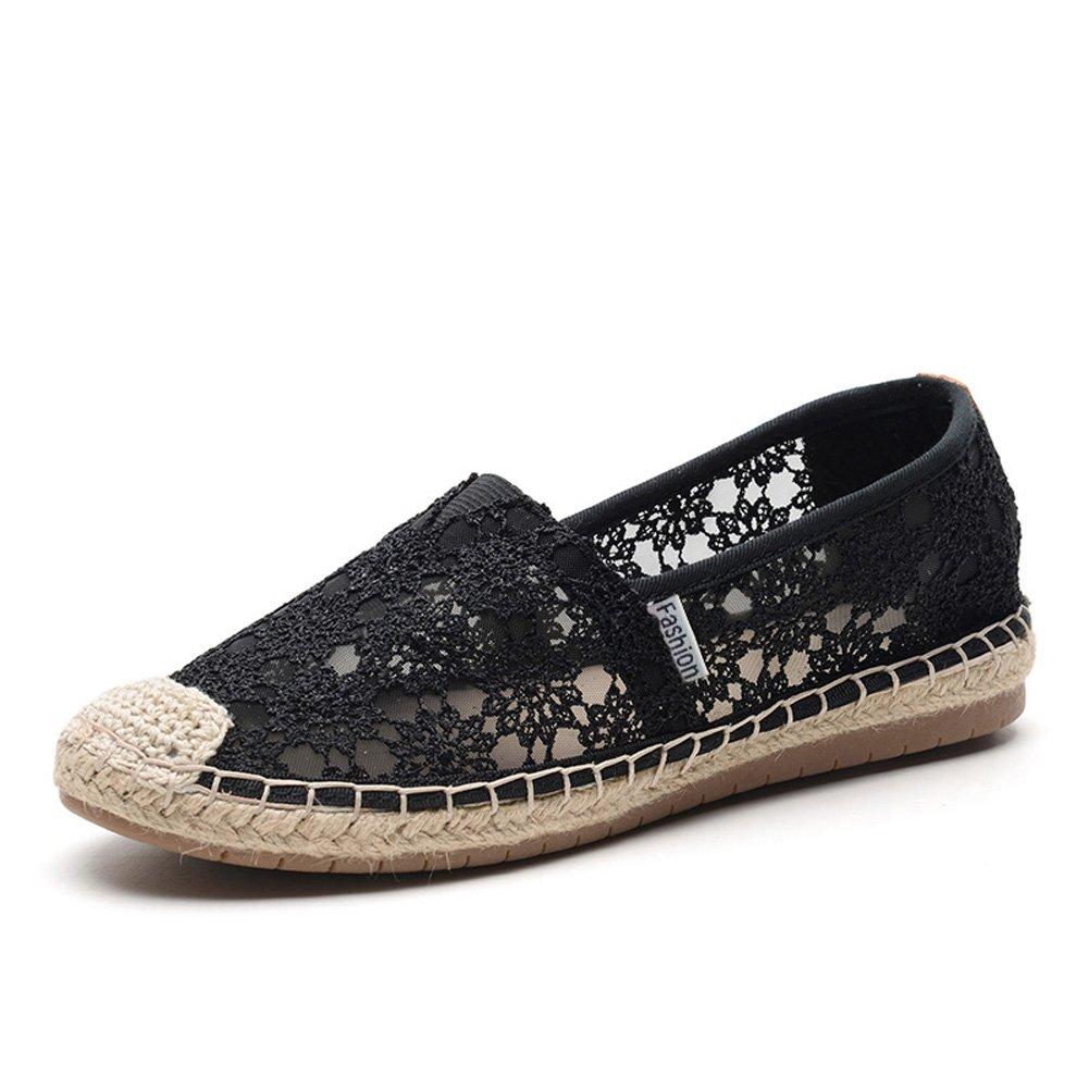 TIOSEBON HK2301 - Zapatillas para Mujer 38 EU 2302 Black