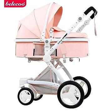 Amazon.com: Cochecito de bebé 3 en 1 bebé 2 en 1 asiento de ...