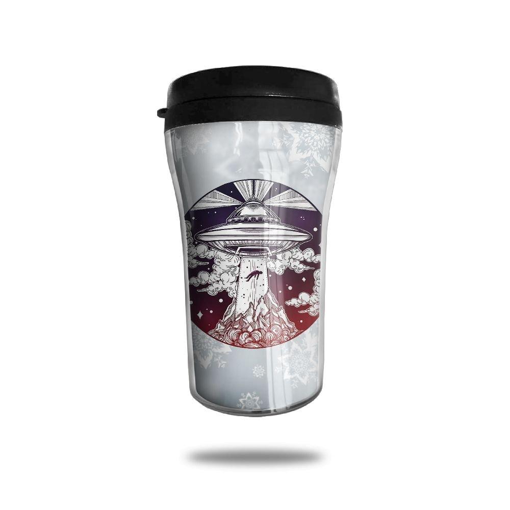 Alien Spaceship Abduction UfoコーヒーカップPersonalized Travel Mug B07813TPT7