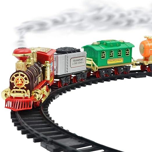 Mejor Regalo Para Un Nino De 4 Anos.Juego De Juguetes De Tren De Riel Electrico Riel De Tren