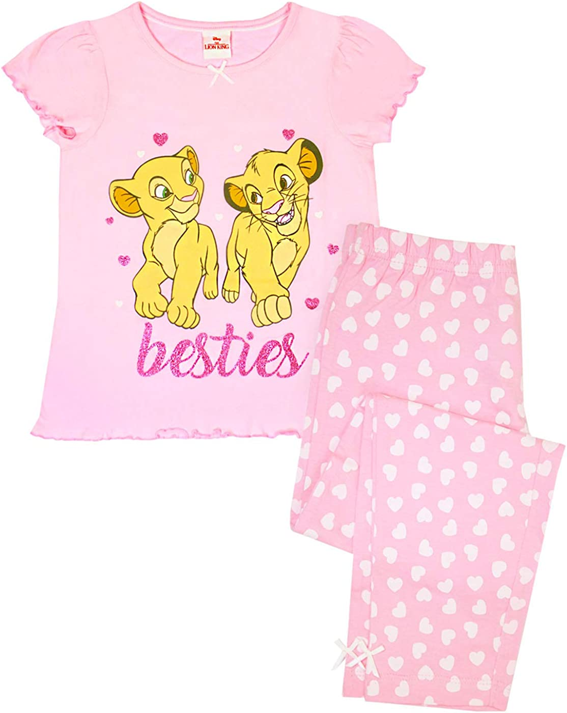 Disney Girls Lion King Pyjamas Multicoloured Age 5 to 6 Years
