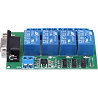 4 Canal Relay Board Remote Control DB9 RS232