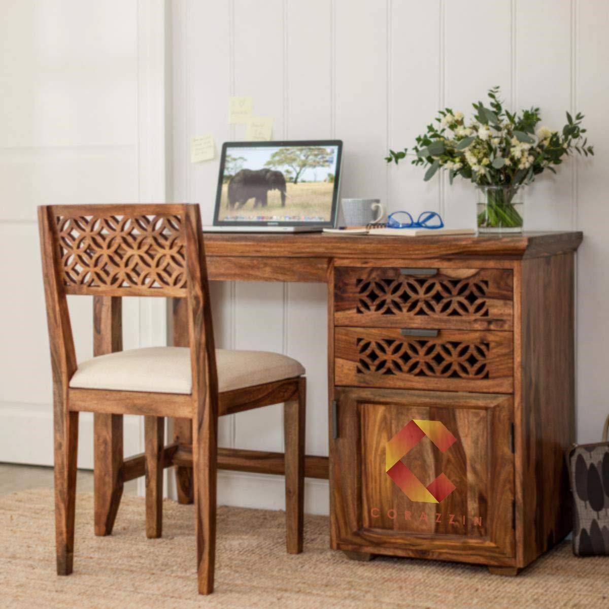 Corazzin Furniture Sheesham Wood Study Table for ₹14,240