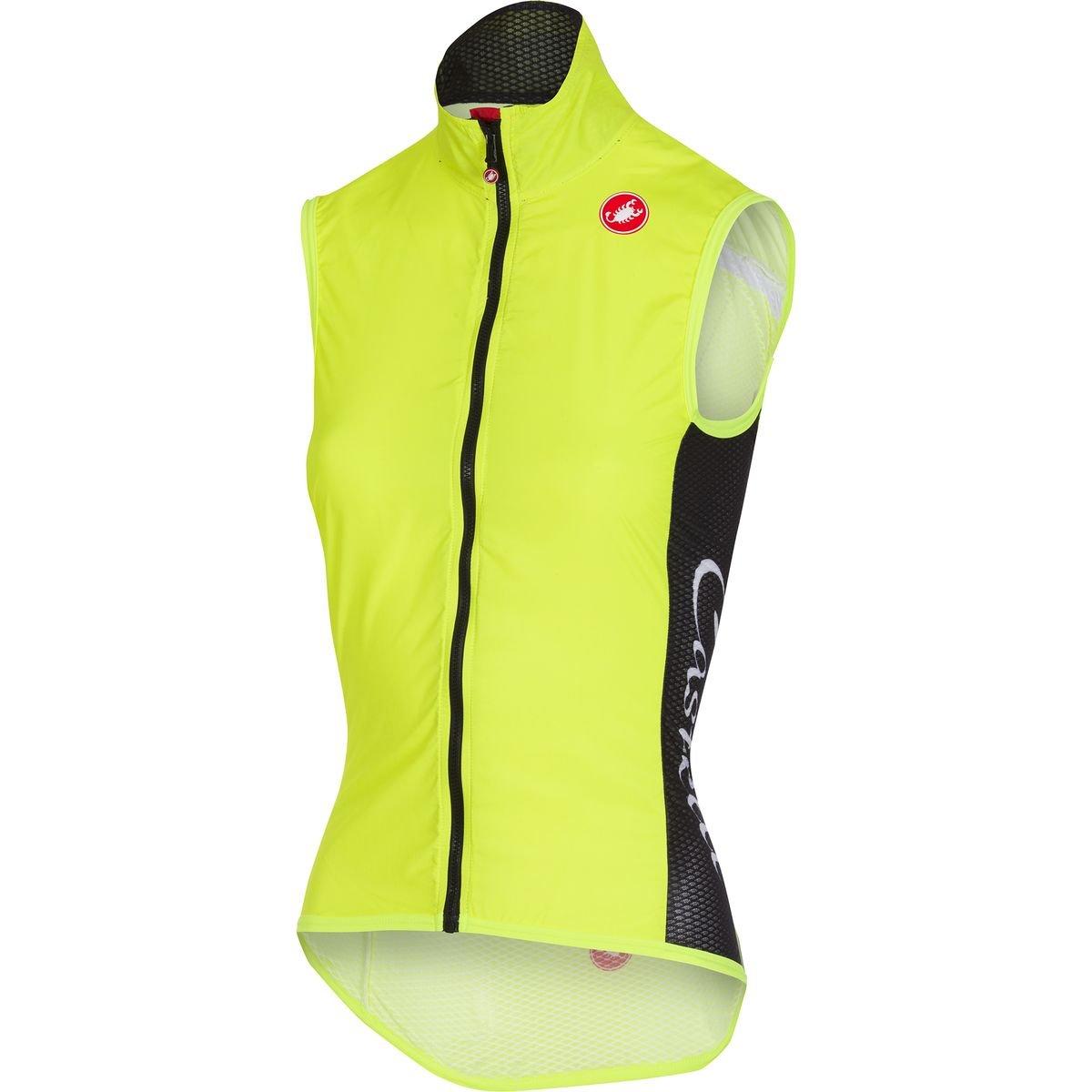 Castelli Damen Radsportweste Pro Light W Wind Vest gelb 510 S