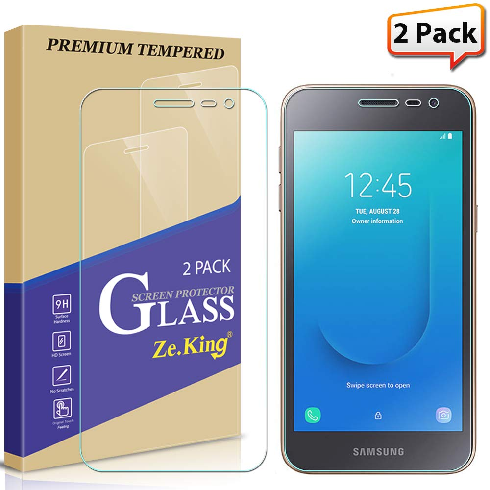 55e83364940  2-Pack  Samsung Galaxy J2 Core  J2 (2019)  J2 Pure Screen Protector  Tempered Glass