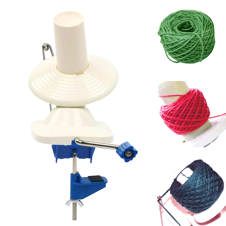 Yarn Ball Winder Hand-Operated Yarn Ball Winder Swift Yarn Winder for Swift Yarn Fiber String Ball