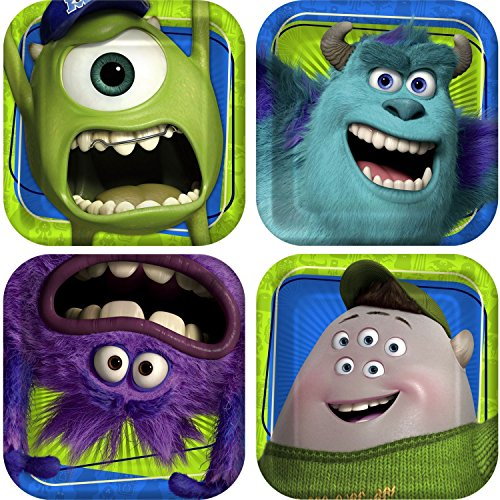monster inc plate - 7
