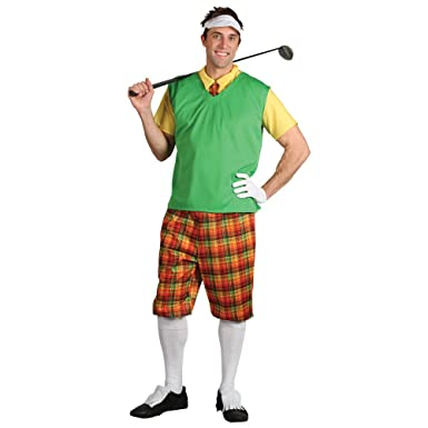 Funny Guy Golfer Adults Pub Golf Fancy Dress Costume Men (Men Medium)  sc 1 st  Amazon UK & Funny Guy Golfer Adults Pub Golf Fancy Dress Costume Men (Men ...