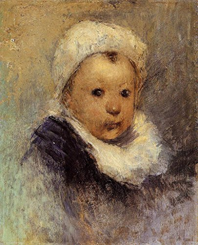 Gauguin Paul Portrait of a Child 100% Hand Painted Oil Paintings Reproductions 12X16 Inch by B-Arts