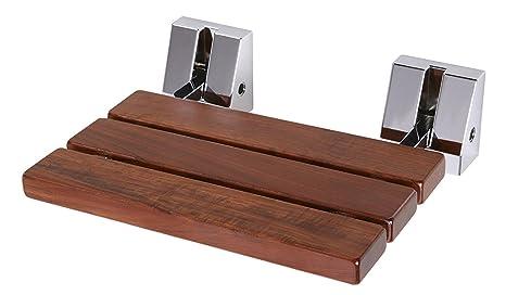 Sedile Doccia Legno : Sedile da doccia pieghevole extra largo sedile ribaltabile per