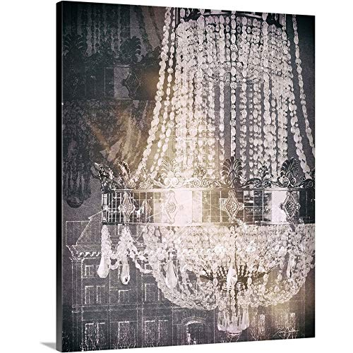 - Chandelier Art I Canvas Wall Art Print, 24