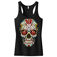 2XL Biker Outlaw Hell Wings Skull Wire Mens Sleeveless Muscle Tank Top Vest Sm