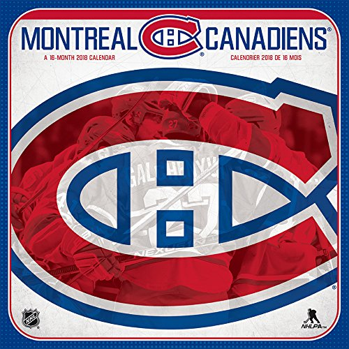 Montreal Canadiens  2018 Wall Calendar (English and French Edition) by Trends International Calendars