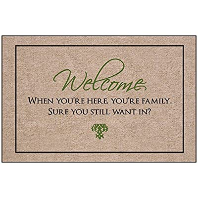 Welcome - You are Family Indoor/Outdoor Doormat