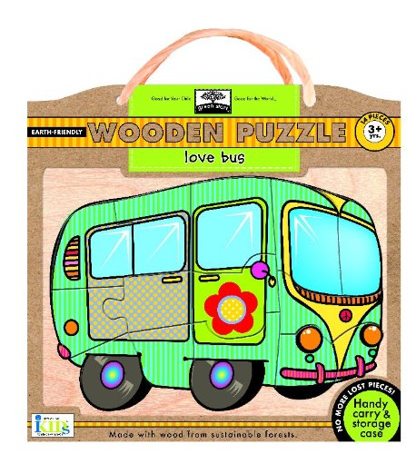 Green Start Wooden Puzzles - Love Bus: Earth Friend Puzzles with Handy Carry & Storage Case ebook