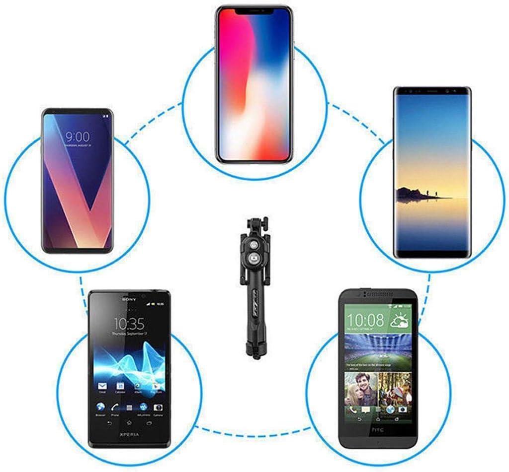 Gonikm Wireless Bluetooth Selfie Stick Handheld Foldable Monopod Mini Tripod Clip Holder Monopods
