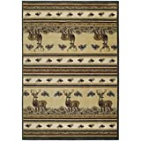 "Segma Genesis Master of the Meadows Area Rug, Natural, 5'3"" x 7'6"""