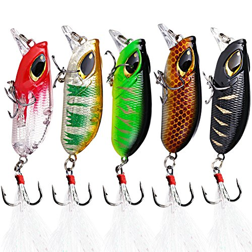 Sougayilang Bass Fishing Lures Crankbait Tackle Swim Bait wobblers Fishing Hard Crazy Fishing Lure
