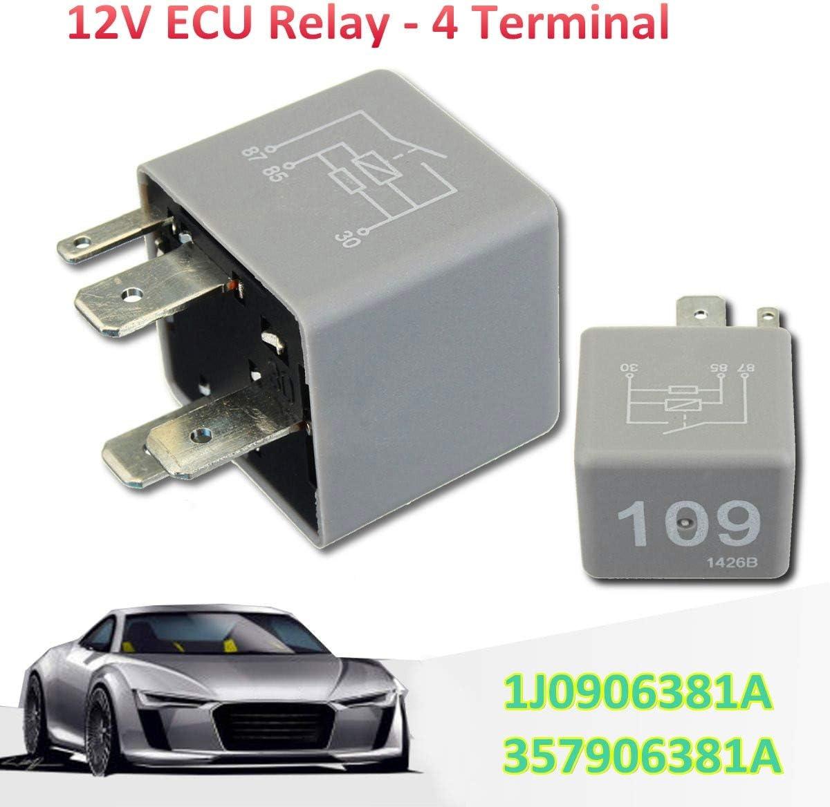 Engine Power ECU Fuel Pump Relay 109 1J0906381A For VW Audi Seat Skoda