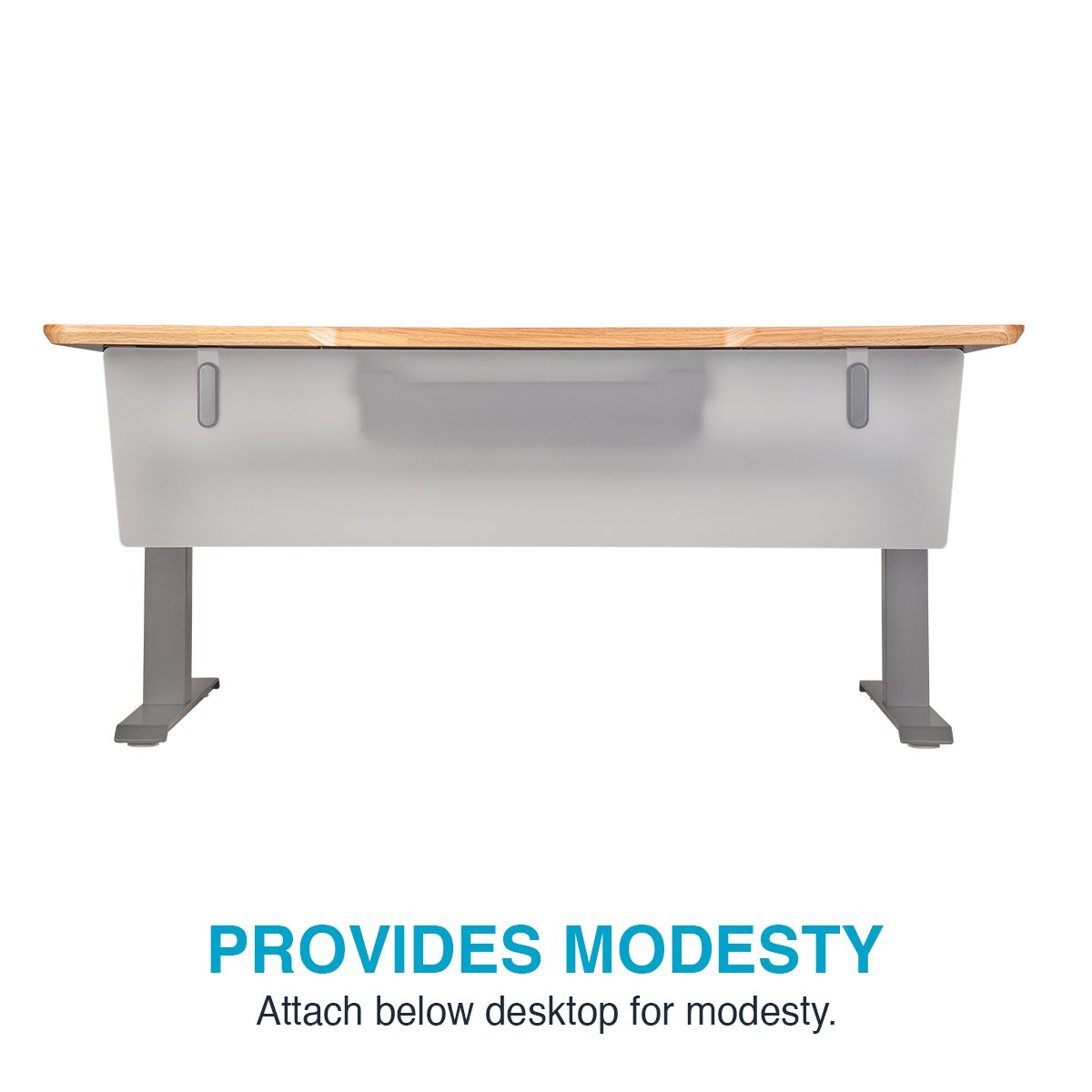 VARIDESK - ProDesk Electric Privacy and Modesty Panel 60 - Office Partition by VARIDESK (Image #5)