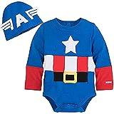 Disney Marvel Captain America Costume Bodysuit for