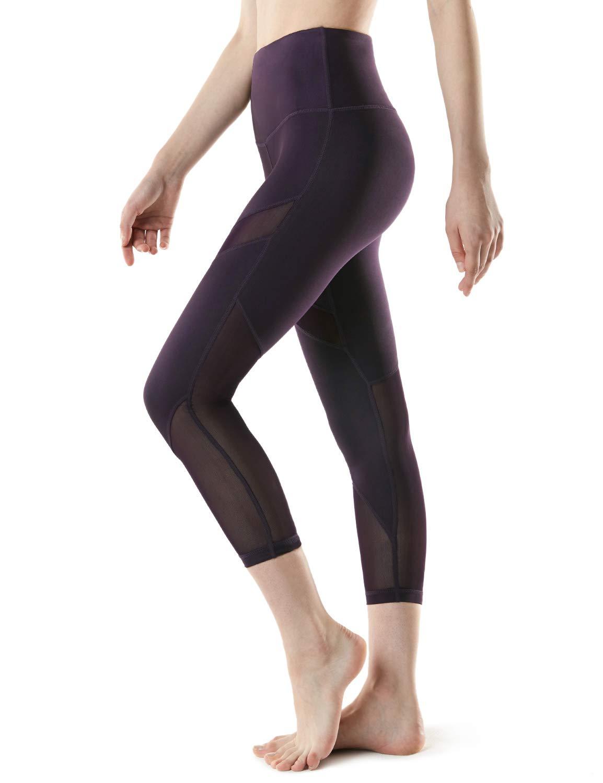 8c7d9912898d TSLA Yoga Pants Mid   High-Waist Tummy Control w Hidden Pocket TM-FYC
