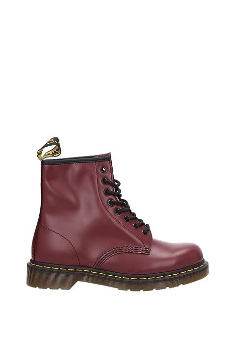 Botines Dr. Martens Hombre - (146010072600CHERRYREDSMOOTH) EU: Amazon.es: Zapatos y complementos