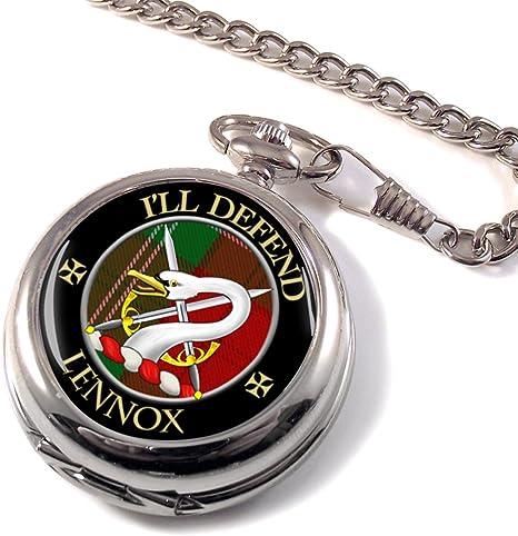 Lennox Scottish Clan del reloj de bolsillo: Amazon.es: Hogar
