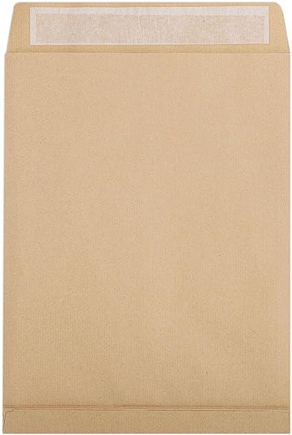 Clairefontaine 17456C – Caja de 250 sobres kraft marrón 27,5 x 36 ...