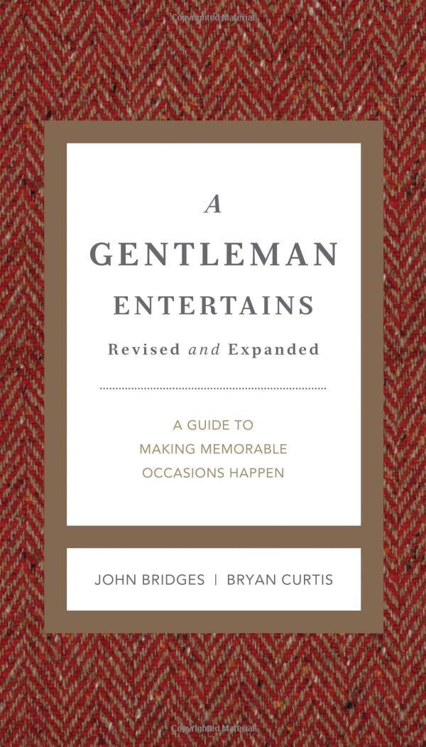 Gentleman Entertains A Rev Ed Hb Gentlemanners Amazon Co