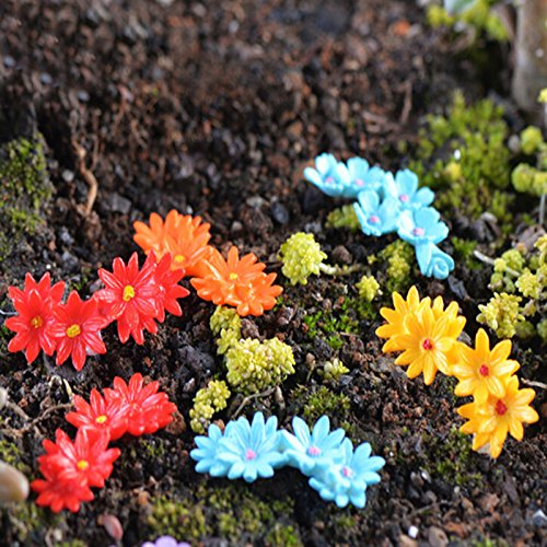 BUNITA,10Pcs Lifelike Moss Flower Miniature Micro Landscape Bonsai Dollhouse Decor,Dollhouse Flower - Zombie Zoo Keeper Costume