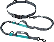 TaoTronics Retractable Hands Free Dog Leash with Dual Bungees for up to 150 lbs Large Dogs