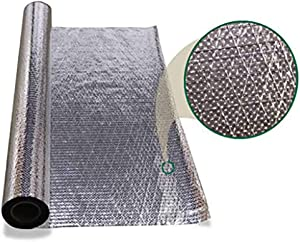 1000 sqft Diamond Radiant Barrier Solar Attic Foil Reflective Insulation 4x250 by AES