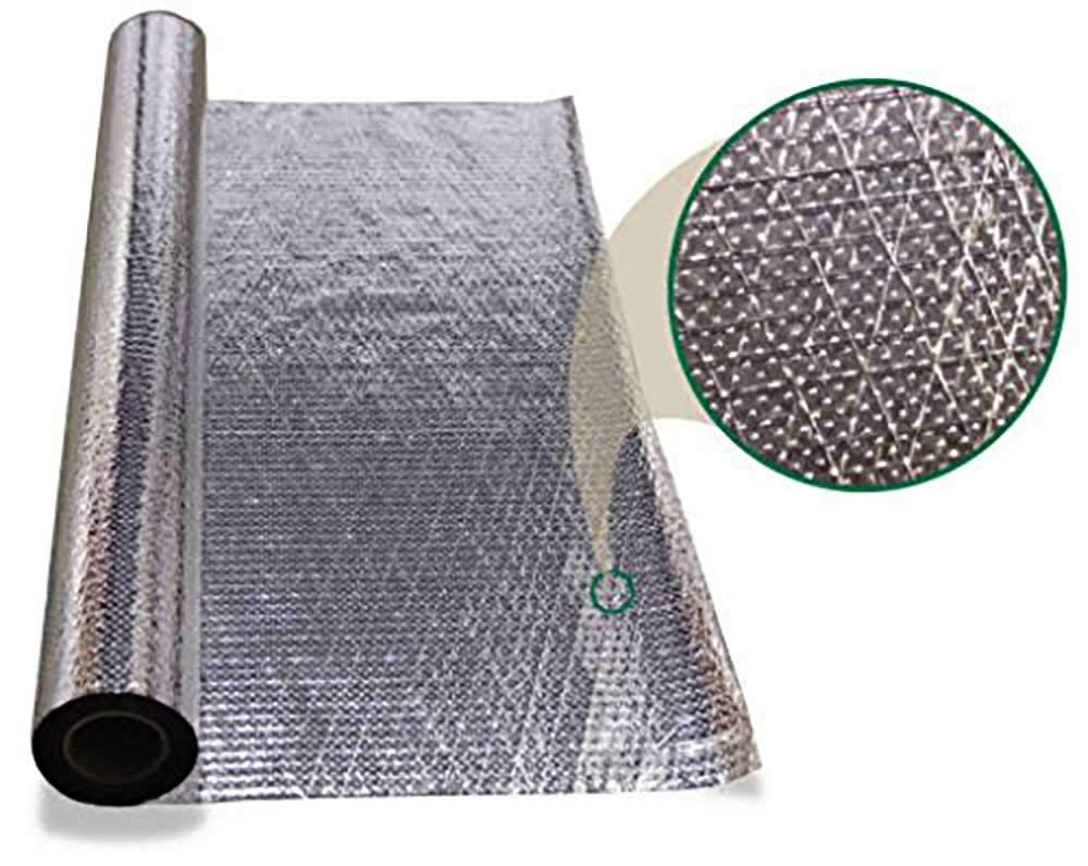 1000 sqft Diamond Radiant Barrier Solar Attic Foil Reflective Insulation 4x250 by AES by AWS