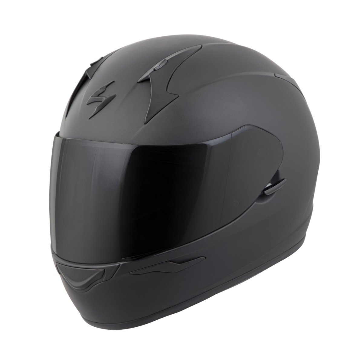 Scorpion EXO-R320 Full-Face Solid Helmet Matte Black Small (More Size Options) by Scorpion