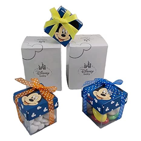 Bombonera de Mickey (Disney), estuche para guardar dulces, 5 ...