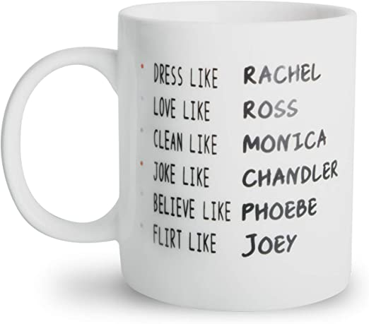Friends TV Show Coffee Funny Ceramic Cup Office Home Kitchen Tea Mug Funny Gift