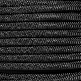 PARACORD PLANET Black Diamond Weave Shock Cord - Available in 1/8'', 3/16'', 1/4'', 3/8'', 1/2'', and 3/4'' Diameters - Various Lengths