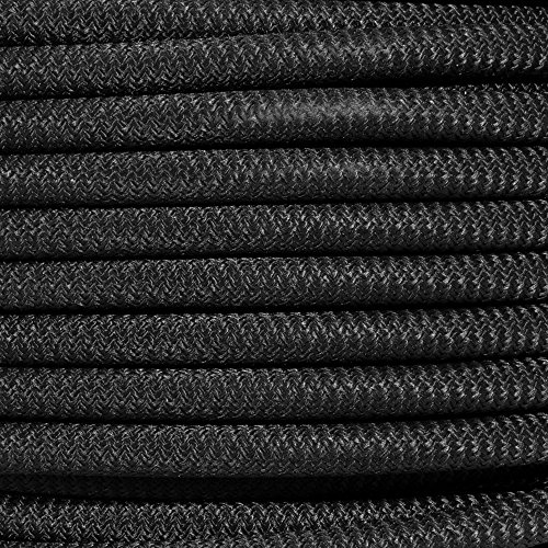 PARACORD PLANET Black Diamond Weave Shock Cord - Available in 1/8'', 3/16'', 1/4'', 3/8'', 1/2'', and 3/4'' Diameters - Various Lengths by PARACORD PLANET (Image #1)