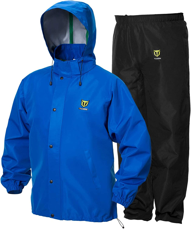 TideWE Rain Suit Breathable Durable Sport Rain wear