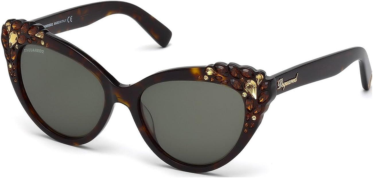 Sunglasses DSquared2 DQ 168 DQ0168 52N dark havana / green