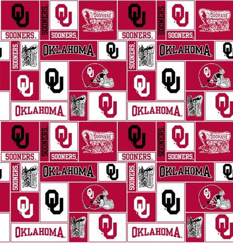 Oklahoma University By Sykel - 100% Polyester Fleece 60