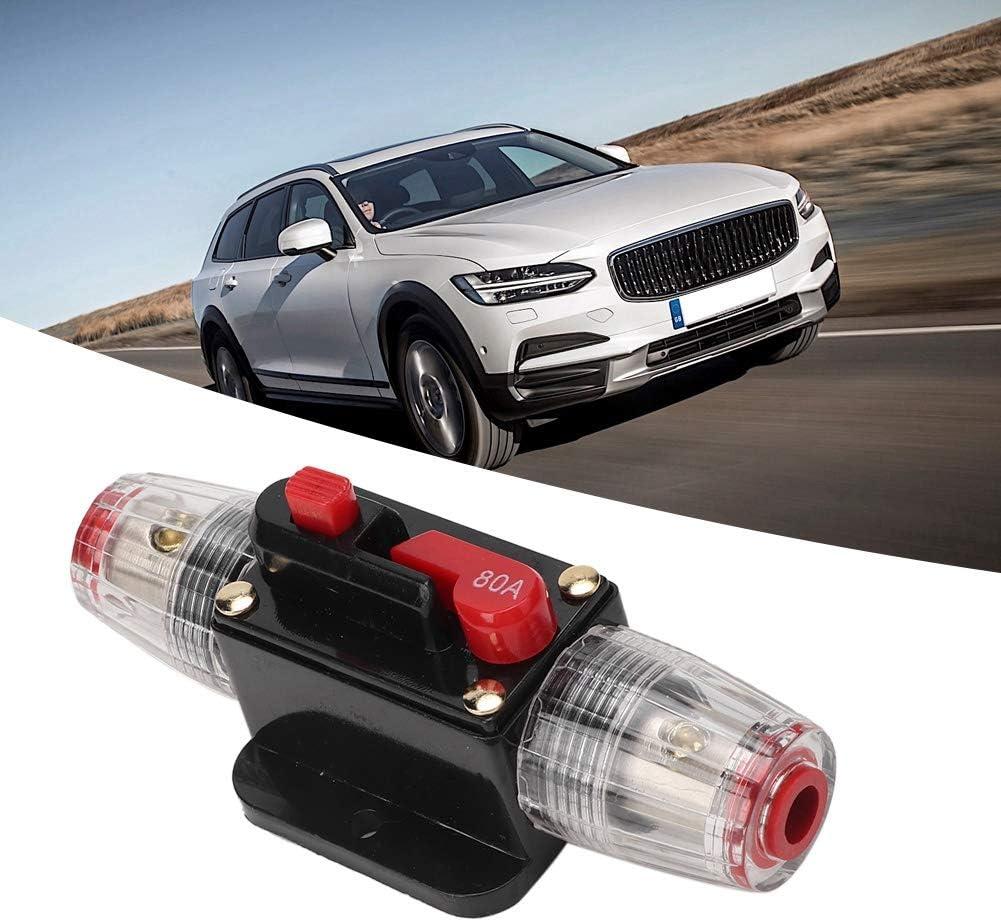 80A EBTOOLS 12V Leistungsschalter Auto 12V Auto Boot Audio Reset Leistungsschalter Schalter Sicherung Unterst/ützung