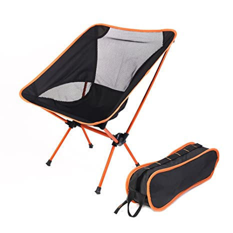Superieur Ultralight Portable Folding Camping Chair With Carry Bag, Lightweight  Compact Hiking Equipment For Outdoor Camp
