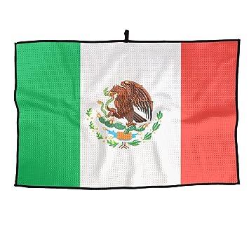 Game Life Toalla de Golf Personalizada con la Bandera de México, Toalla de Microfibra para Deportes: Amazon.es: Hogar