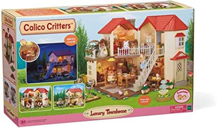 Calico Critters Luxury Townhome Town House REPLACEMENT PART Corner Balcony