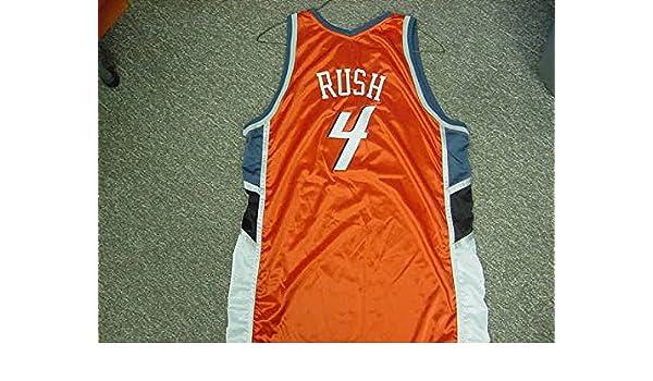 37f25ccaf462 Kareem Rush Charlotte Bobcats Orange Game Jersey at Amazon s Sports  Collectibles Store