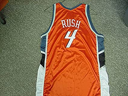 6e9b27463ef7 Image Unavailable. Image not available for. Color  Kareem Rush Charlotte  Bobcats Orange Game Jersey