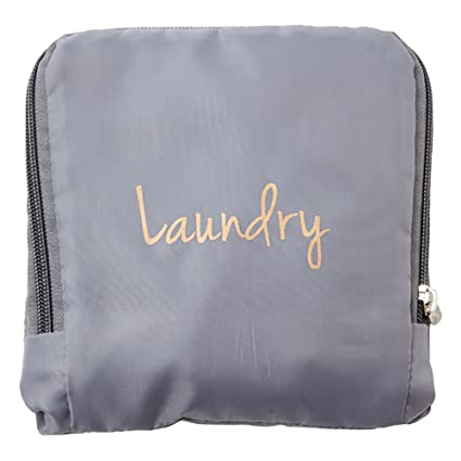 c426fed9dd6a Miamica Laundry Bag, Assorted Styles, Grey/Gold