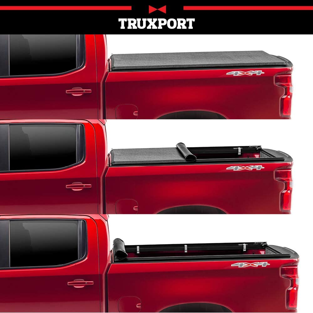 Amazon Com Truxedo Truxport Soft Roll Up Truck Bed Tonneau Cover 297701 Fits 15 20 Ford F 150 5 6 Bed Automotive